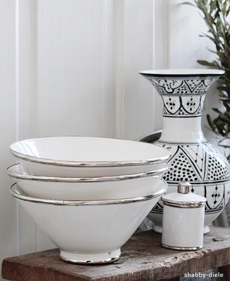 marokkanische schale silberrand 30cm bei shabby diele ihrem online store f r ausgesuchte. Black Bedroom Furniture Sets. Home Design Ideas