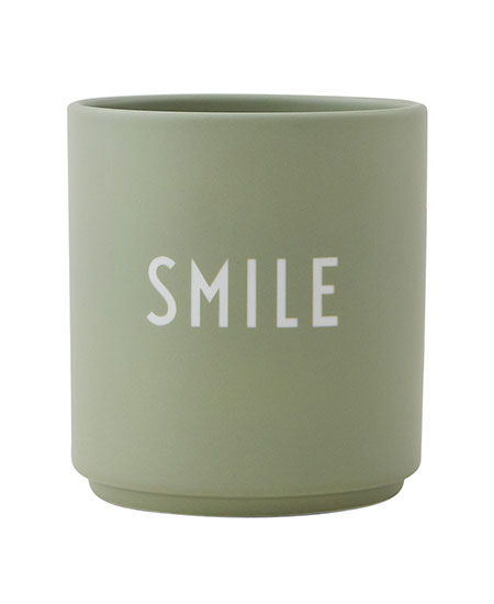 FAVOURITE CUP, SMILE DESIGN LETTERS
